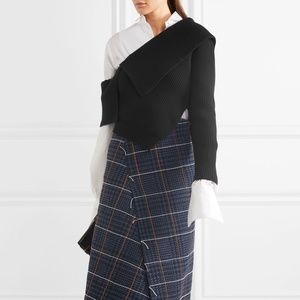 Burberry One Should Rib Wool Cashmere Sweater
